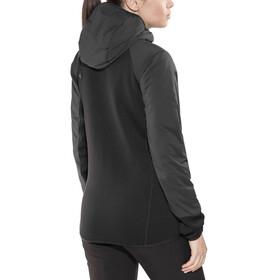 Black Diamond First Light Hybrid Hoody Jacket Women Smoke